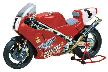 Byggmodell motorcykel - Ducati 888 Superbike - 1:12 - Tamiya