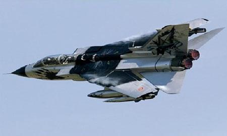 Byggmodell flygplan - Tornado IDS Black Panthers - 1:48 - IT