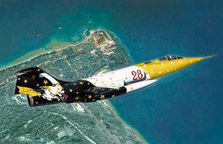 Byggmodell flygplan - F-104G Starfighter - 1:48 - IT
