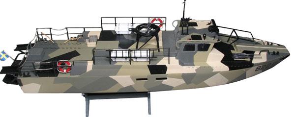 Byggsats trä båt - CB 90H - Stridsbåt 90 - 1:35 - NB