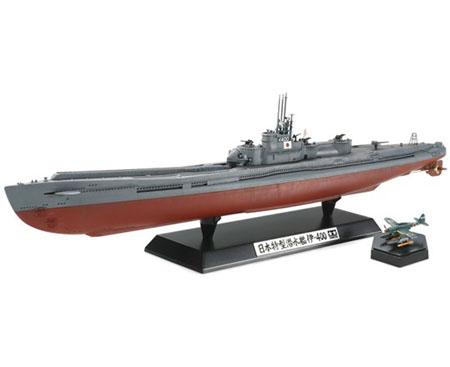 Byggmodell ubåt - Japanese Navy Submarine I-400 - 1:350 - Tamiya