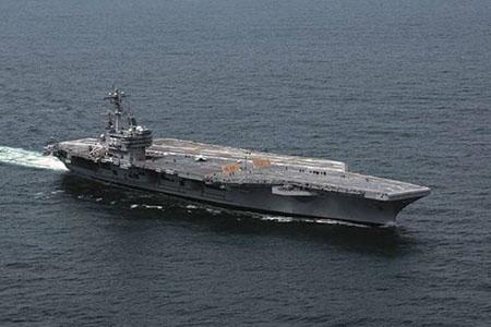 Byggmodell krigsfartyg - U.S.S. George H.W.Bush CVN 77 - 1:720 - IT