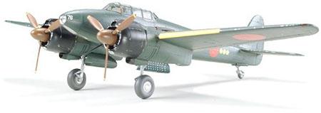 Byggmodell flygplan - Gekko Type 11 Late Production - 1:48 - Tamiya