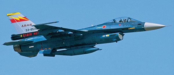 Byggmodell flygplan - Mitsubishi F-2A 6SQ 50th anniversary - 1:48 - Hg