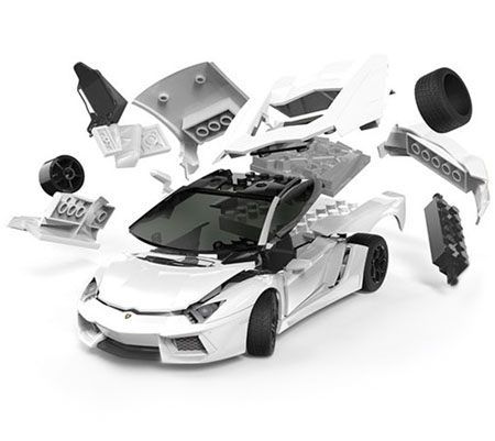 Quickbuild - Lamborghini Aventador - AirFix
