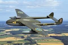 Byggmodell flygplan - Vampire FB.MK.5 J 28 SE - 1:48 - TR