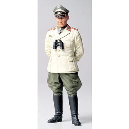 Byggmodell gubbe - Feldmarschall rommel - 1:16 - Tamiya