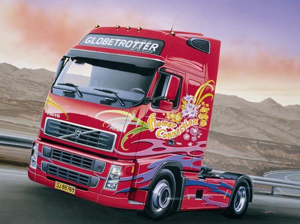 Byggmodell Lastbil - Volvo FH16 Globetrotter XL - 1:24 - IT