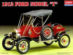 Byggmodell bil - 1912 års T-Model - 1:16 - Ac