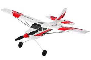 Nybörjar Flygplan - Mini Trainstar - 3ch - 2,4Ghz - EPO - RTF