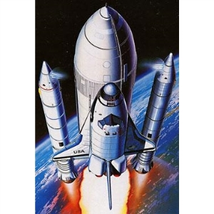 Modellflygplan - SPACE SHUTTLE + BOOSTER - 1:288 - Academy