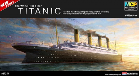 Modellbåtar - Titanic white star liner (670 mm) - 1:400 - Academy