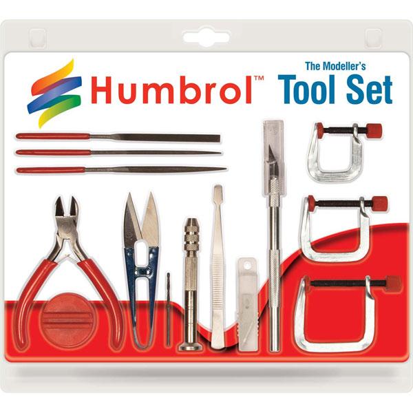 Byggmodell verktyg - Modelset Medium AG9159 - Humbrol
