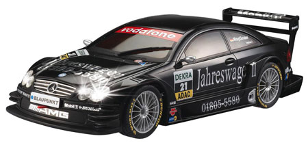 Radiostyrda bilar - 1:27 - Mercedes Benz CLK DTM, inkl lyse & fjädring - RTR