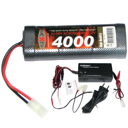 Auto Powerpack 4000 - Batteri + Auto snabbladdare