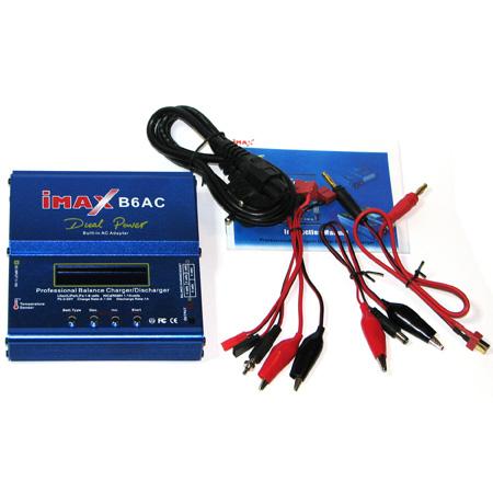 Automatisk batteriladdare - Imax B6AC - Digital - (Li-Po, Ni-Mh, Ni-Cd) Max 5A, 100-240V
