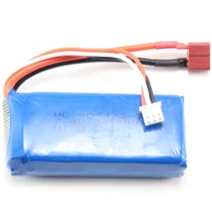 Batteripack Li-PO - Batteri 7,4V 1800mAh - T-Kontakt - 959 mfl