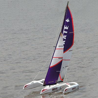 Radiostyrd segelbåt - Beili Skate 1000 - 2,4GHz - RTR