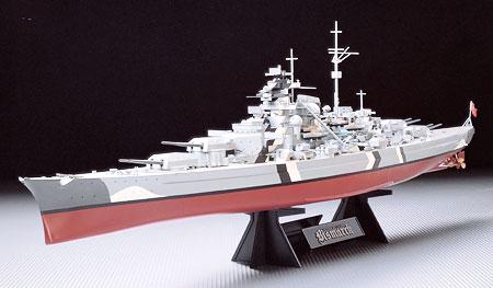 Byggmodell slagskepp - Bismarck - 1:350 - Tamiya