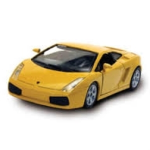 Byggmodell bil - Lambourghini Gallardo - 1:32 - (pre-painted, metal body kit EASY BUILD)