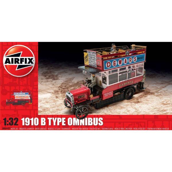 Byggmodell buss - Omnibus Type B - 1:32