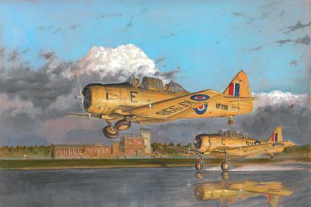 Flygplansmodell - SK-16 - HARVARD Mk.IIA, SE decal - F10 Ängelholm - 1:48