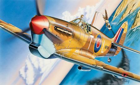 Modellflygplan - Spitfire Mk.Vb - Italeri - 1:72