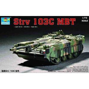 Byggmodell stridsvagn - SWEDEN STRV 103C MBT - 1:72