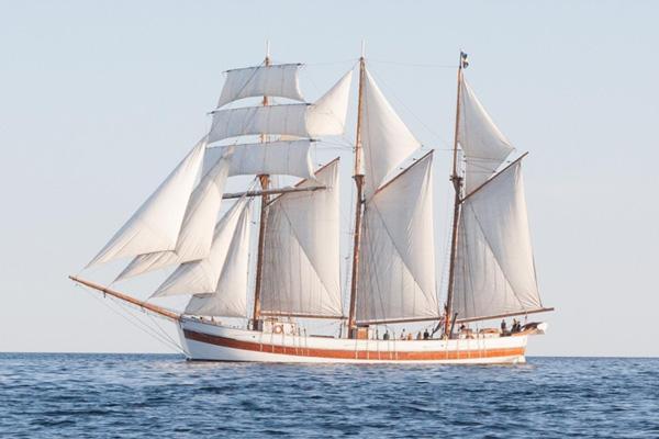 Byggsats båt trä - Skonaren VEGA - 1:35 - Am