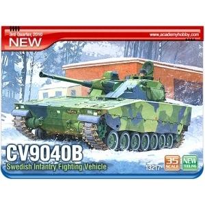 Byggsats Stridsvagn - Sweden CV-9040B IFV (STRIDSFORDON 90) - 1:35