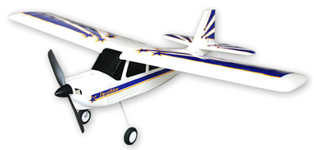 Flygplan - Decathlon 2,4Ghz BL + Sim - Borstlöst - 4ch - EPO -  RTF