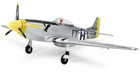 Flygplan - P51 Mustang 1200 BL - 5ch - Dy - 2,4Ghz - RTF