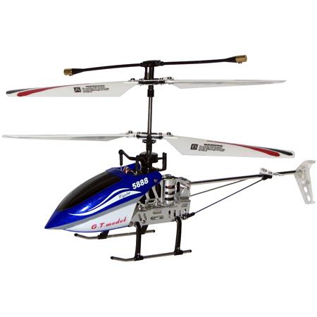 Radiostyrd helikopter - G.T model 5888 2,4Ghz Gyro - 4ch - RTF