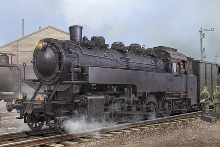 Byggsats Lok - German Dampflokomotive BR86 - 1:72 - HobbyBoss