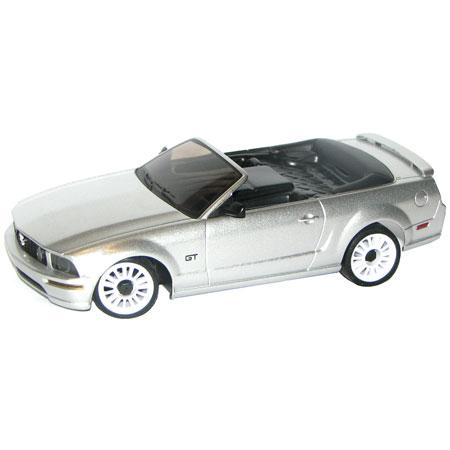 Radiostyrda bilar - 1:28 - Iwaver 02M Ford Mustang - 2,4Ghz - LCD - Silver - RTR