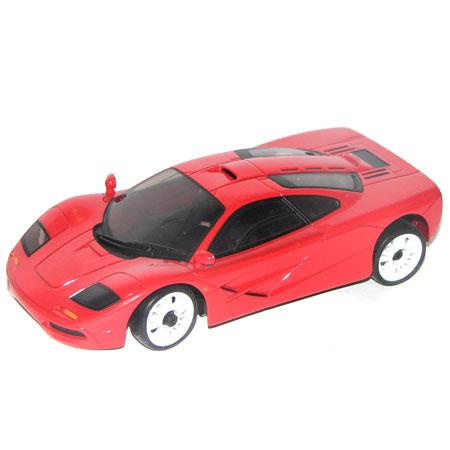 Radiostyrda bilar - 1:28 - Iwaver 04M McLaren - 4WD - 2,4Ghz - Röd - Färgsändare - RTR
