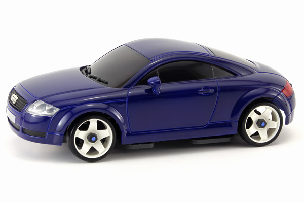 Radiostyrda bilar - 1:28 - Iwaver 04M Audi TT - 4WD - 2,4Ghz - Blå - Färgsändare - RTR