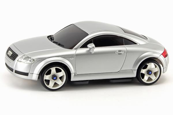 Radiostyrda bilar - 1:28 - Iwaver 04M Audi TT - 4WD - 2,4Ghz - Silver - Färgsändare - RTR