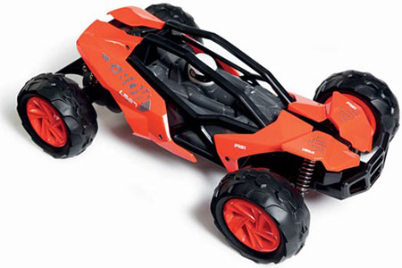 Radiostyrd bil - 1:14 - Kx7 Speed Buggy - 2,4Ghz - Orange - RTR