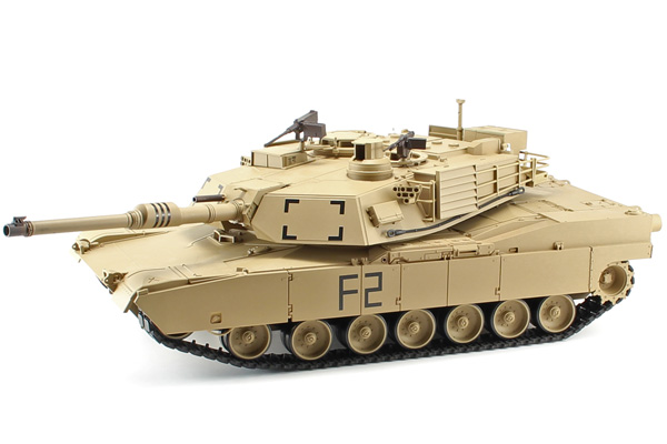 Radiostyrd stridsvagn - V6 ny - 1:16 - M1A2 Ultimate Cammo - 2,4Ghz - s.airg. rök & ljud - RTR