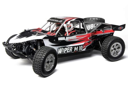 Radiostyrda bilar - 1:10 - Viper M10 - 2,4Ghz - RTR