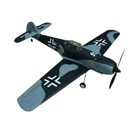 Flygplan - Messerschmitt Me 109 BL 2,4Ghz - EPO - 4ch - Borstlöst paket - RTF