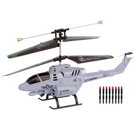 Radiostyrd helikopter - Cobra missil helikopter - 3,5ch - RTF