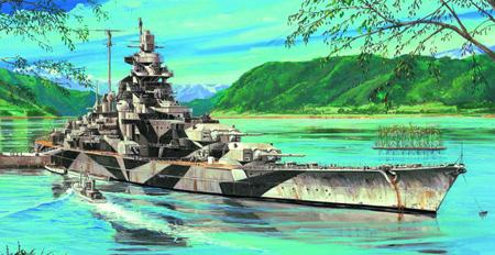 Modellbåt - Tirpitz 1944 - Trumpeter - 1:700