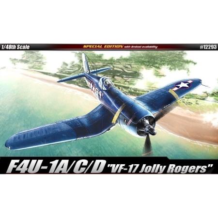 Modellflygplan - F4U-1D JOLLY ROGERS - 1:48