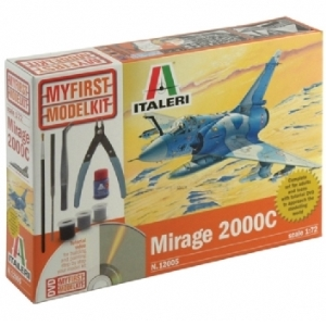 Modellflygplan - MIRAGE 2000C - My first model kit - 1:72 (compl. set)