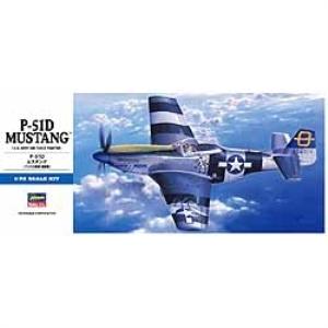 Modellflygplan - P-51D Mustang - 1:72
