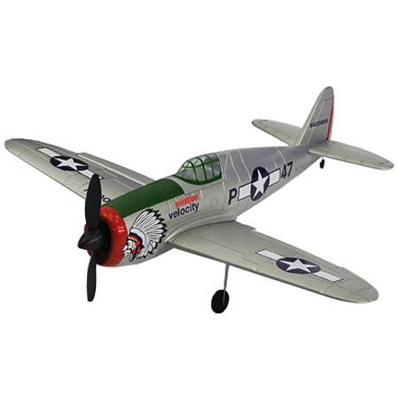 Flygplan - P47 Thunderbolt BL - 4ch - Borstlöst paket - RTF