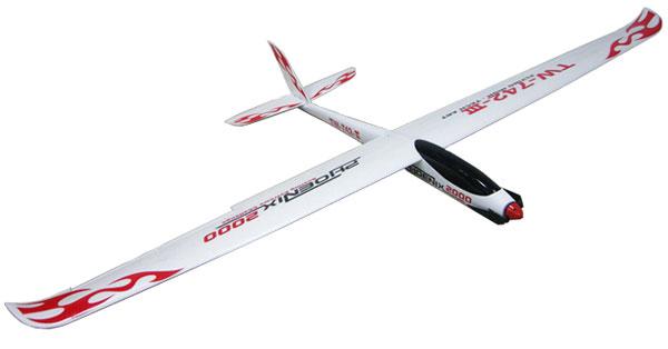 Flygplan - Phoenix 2000 BL 2,4Ghz - 4ch - RTF