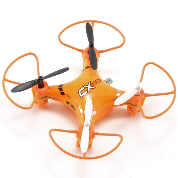 Radiostyrd drone - Quadcopter CX-023 - 2,4Ghz - Led/flip v - RTF